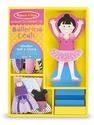 Leah Ballerina Magnetic Dress-Up Set