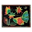 Scratch Art Paper Multicolor (12 sheets)