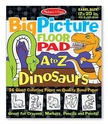 Big Picture Floor Pad A to Z Dinosaurs