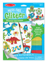 Mess-Free Glitter Cool Creatures Foam Stickers