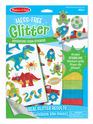 Mess-Free Glitter Cool Creatures Foam Stickers