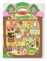 Puffy Sticker Play Set: Chipmunk House