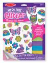 Mess-Free Glitter Friendship Foam Stickers