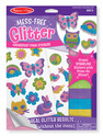Mess-Free Glitter Friendship Foam Stickers