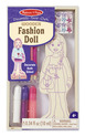 Decorate-Your-Own Wooden Fashion Doll