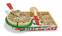 Pizza Party - Wooden Play Food