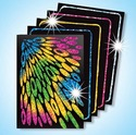 Scratch Art Scratch & Sparkle Artist Trading Cards Assorted Holographic Colors