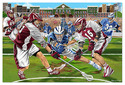 LAX Check! Lacrosse Floor Puzzle - 48 Pieces