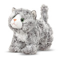 Roxie Grey Tabby Kitten Stuffed Animal