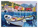 Tranquil Harbor Cardboard Jigsaw - 1500 Pieces
