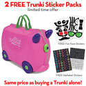 Trunki Trixie (Pink) with FREE Trunki Stickers