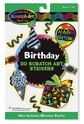 Scratch Art® Birthday Stickers