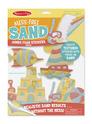 Mess-Free Sand Jumbo Foam Stickers - Beach