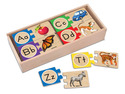 Self-Correcting Alphabet Letter Puzzles
