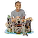 Medieval Castle 3D Puzzle and Play Set In One