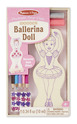 Decorate-Your-Own Wooden Ballerina Doll