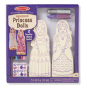 Decorate-Your-Own Wooden Princess Dolls