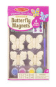 Decorate-Your-Own Wooden Butterfly Magnets