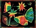 Scratch Art Soft Scratch Board - Multicolor (30 boards)