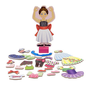 Nina Ballerina Magnetic Dress-Up Set