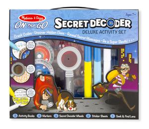 Secret Decoder Activity Book Kit - ON the GO