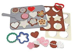 Felt Play Food - Cookie Decorating Set