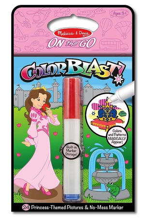 Princess Colorblast Book - ON the GO Travel Activity