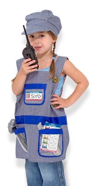 Train Engineer Role Play Costume Set