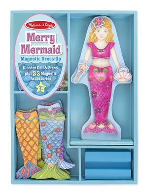 Mermaid Magnetic Dress-Up Set