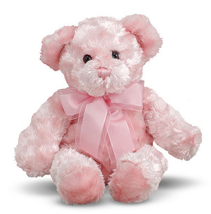 Strawberry Pink Teddy Bear Stuffed Animal