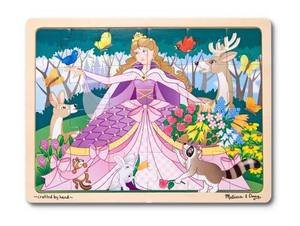 Woodland Princess Wooden Jigsaw Puzzle - 24 Pieces