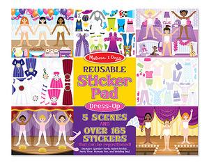 Reusable Sticker Pad - Dress-Up