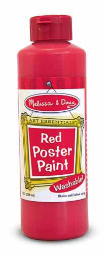 Red Poster Paint