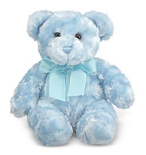 Blueberry Blue Teddy Bear Stuffed Animal