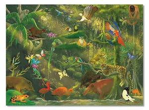 Beneath the Canopy Cardboard Jigsaw Puzzle - 500 Pieces
