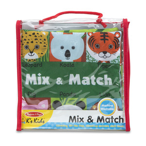 Soft Activity Book - Mix & Match