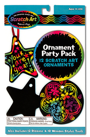 Scratch Art® Party Pack - Ornaments