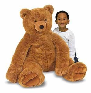 Jumbo Brown Teddy Bear