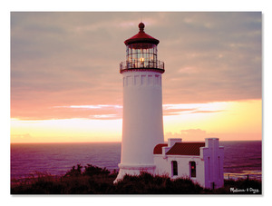 Lighthouse Dawn Cardboard Jigsaw - 300 Pieces