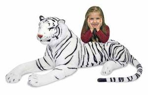White Tiger Giant Stuffed Animal
