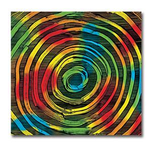 Scratch Art Multicolor Finger Paint Paper (30 sheets)