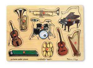Music Peg Puzzle