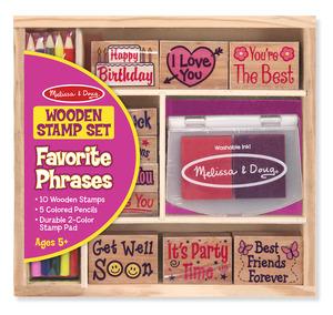 Favorite Phrases Stamp Set