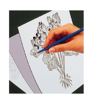 Scratch Art Trace-It Gray Transfer Paper (5 sheets)