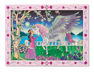 Mystical Unicorn Peel & Press Sticker by Numbers
