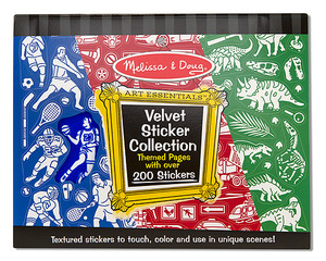 Velvet Sticker Collection - Blue