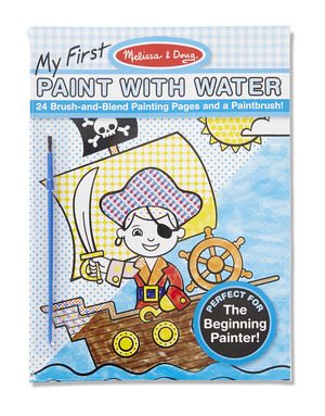 My First Paint with Water Kids' Art Pad - Blue