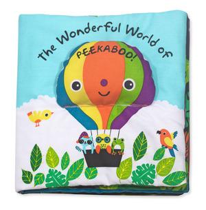 Soft Activity Book - Fantastic World of Peekaboo