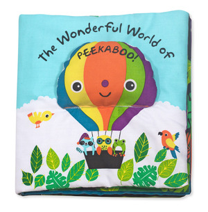 Soft Activity Book - Fantastic World of Peekaboo