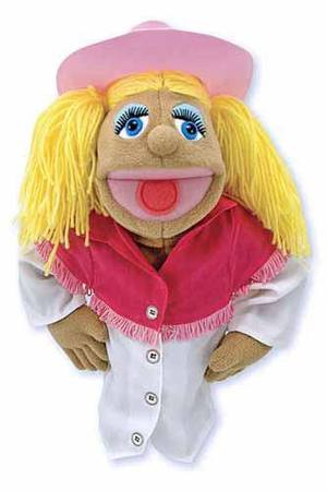 Sally Sidesaddle Cowgirl Puppet